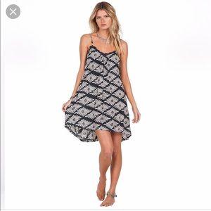 Volcom stone row geometric daisy dress.
